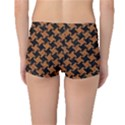 HOUNDSTOOTH2 BLACK MARBLE & RUSTED METAL Boyleg Bikini Bottoms View2