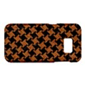 HOUNDSTOOTH2 BLACK MARBLE & RUSTED METAL Samsung Galaxy S7 Hardshell Case  View1