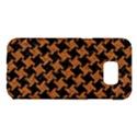 HOUNDSTOOTH2 BLACK MARBLE & RUSTED METAL Samsung Galaxy S7 Edge Hardshell Case View1