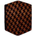 HOUNDSTOOTH2 BLACK MARBLE & RUSTED METAL Apple iPad Pro 9.7   Flip Case View3