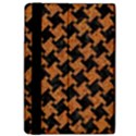 HOUNDSTOOTH2 BLACK MARBLE & RUSTED METAL Apple iPad Pro 9.7   Flip Case View4