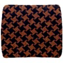 HOUNDSTOOTH2 BLACK MARBLE & RUSTED METAL Back Support Cushion View1