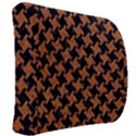 HOUNDSTOOTH2 BLACK MARBLE & RUSTED METAL Back Support Cushion View2