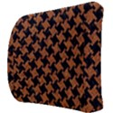 HOUNDSTOOTH2 BLACK MARBLE & RUSTED METAL Back Support Cushion View3