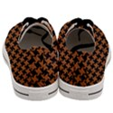 HOUNDSTOOTH2 BLACK MARBLE & RUSTED METAL Men s Low Top Canvas Sneakers View4
