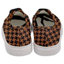 HOUNDSTOOTH2 BLACK MARBLE & RUSTED METAL Women s Classic Low Top Sneakers View4