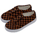 HOUNDSTOOTH2 BLACK MARBLE & RUSTED METAL Kids  Classic Low Top Sneakers View2