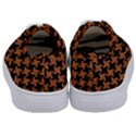 HOUNDSTOOTH2 BLACK MARBLE & RUSTED METAL Kids  Classic Low Top Sneakers View4