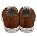 HEXAGON1 BLACK MARBLE & RUSTED METAL Women s Low Top Canvas Sneakers View4