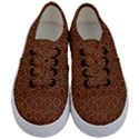 HEXAGON1 BLACK MARBLE & RUSTED METAL Kids  Classic Low Top Sneakers View1