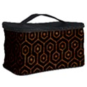 HEXAGON1 BLACK MARBLE & RUSTED METAL (R) Cosmetic Storage Case View2