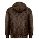 HEXAGON1 BLACK MARBLE & RUSTED METAL (R) Men s Pullover Hoodie View2