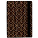 HEXAGON1 BLACK MARBLE & RUSTED METAL (R) Apple iPad Pro 9.7   Flip Case View2