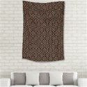HEXAGON1 BLACK MARBLE & RUSTED METAL (R) Small Tapestry View2
