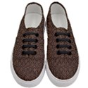 HEXAGON1 BLACK MARBLE & RUSTED METAL (R) Women s Classic Low Top Sneakers View1