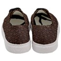 HEXAGON1 BLACK MARBLE & RUSTED METAL (R) Women s Classic Low Top Sneakers View4