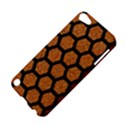 HEXAGON2 BLACK MARBLE & RUSTED METAL Apple iPod Touch 5 Hardshell Case View4