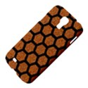 HEXAGON2 BLACK MARBLE & RUSTED METAL Samsung Galaxy S4 I9500/I9505 Hardshell Case View4
