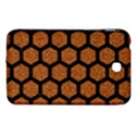HEXAGON2 BLACK MARBLE & RUSTED METAL Samsung Galaxy Tab 3 (7 ) P3200 Hardshell Case  View1