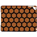 HEXAGON2 BLACK MARBLE & RUSTED METAL Apple iPad Pro 9.7   Hardshell Case View1