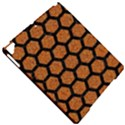 HEXAGON2 BLACK MARBLE & RUSTED METAL Apple iPad Pro 9.7   Hardshell Case View4
