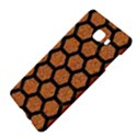 HEXAGON2 BLACK MARBLE & RUSTED METAL Samsung C9 Pro Hardshell Case  View4
