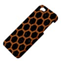 HEXAGON2 BLACK MARBLE & RUSTED METAL (R) Apple iPhone 5 Hardshell Case View4