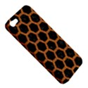 HEXAGON2 BLACK MARBLE & RUSTED METAL (R) Apple iPhone 5 Hardshell Case View5