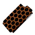 HEXAGON2 BLACK MARBLE & RUSTED METAL (R) Apple iPhone 5 Hardshell Case (PC+Silicone) View4