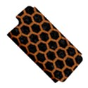 HEXAGON2 BLACK MARBLE & RUSTED METAL (R) Apple iPhone 5 Hardshell Case (PC+Silicone) View5