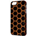 HEXAGON2 BLACK MARBLE & RUSTED METAL (R) Apple iPhone 5 Classic Hardshell Case View3