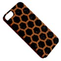 HEXAGON2 BLACK MARBLE & RUSTED METAL (R) Apple iPhone 5 Classic Hardshell Case View5