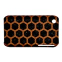 HEXAGON2 BLACK MARBLE & RUSTED METAL (R) iPhone 3S/3GS View1