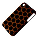 HEXAGON2 BLACK MARBLE & RUSTED METAL (R) iPhone 3S/3GS View4