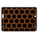 HEXAGON2 BLACK MARBLE & RUSTED METAL (R) Amazon Kindle Fire HD (2013) Hardshell Case View1