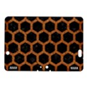 HEXAGON2 BLACK MARBLE & RUSTED METAL (R) Kindle Fire HDX 8.9  Hardshell Case View1