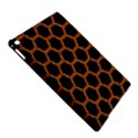 HEXAGON2 BLACK MARBLE & RUSTED METAL (R) iPad Air 2 Hardshell Cases View5