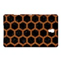 HEXAGON2 BLACK MARBLE & RUSTED METAL (R) Samsung Galaxy Tab S (8.4 ) Hardshell Case  View1