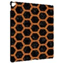 HEXAGON2 BLACK MARBLE & RUSTED METAL (R) Apple iPad Pro 12.9   Hardshell Case View2