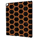 HEXAGON2 BLACK MARBLE & RUSTED METAL (R) Apple iPad Pro 12.9   Hardshell Case View3