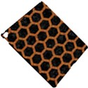 HEXAGON2 BLACK MARBLE & RUSTED METAL (R) Apple iPad Pro 12.9   Hardshell Case View4