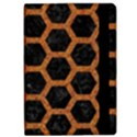HEXAGON2 BLACK MARBLE & RUSTED METAL (R) Apple iPad Pro 10.5   Flip Case View2