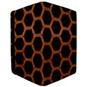 HEXAGON2 BLACK MARBLE & RUSTED METAL (R) Apple iPad Pro 10.5   Flip Case View3