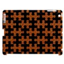 PUZZLE1 BLACK MARBLE & RUSTED METAL Apple iPad 3/4 Hardshell Case (Compatible with Smart Cover) View1