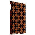 PUZZLE1 BLACK MARBLE & RUSTED METAL Apple iPad 3/4 Hardshell Case (Compatible with Smart Cover) View2