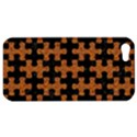 PUZZLE1 BLACK MARBLE & RUSTED METAL Apple iPhone 5 Hardshell Case View1