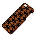 PUZZLE1 BLACK MARBLE & RUSTED METAL Apple iPhone 5 Hardshell Case View4