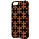 PUZZLE1 BLACK MARBLE & RUSTED METAL Apple iPhone 5 Classic Hardshell Case View3