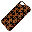 PUZZLE1 BLACK MARBLE & RUSTED METAL Apple iPhone 5 Classic Hardshell Case View4