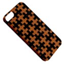 PUZZLE1 BLACK MARBLE & RUSTED METAL Apple iPhone 5 Classic Hardshell Case View5